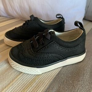 Black Gymboree shoes (9-12 months)